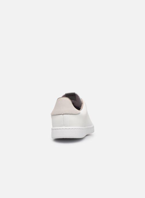 Baskets Victoria TENIS PU Blanc vue droite