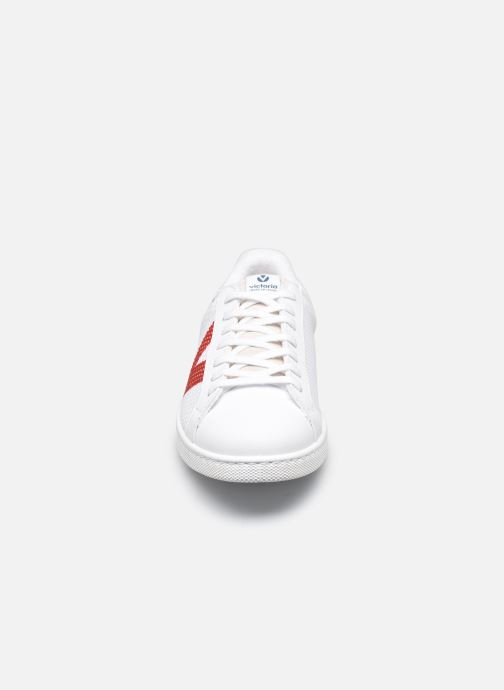 Sneaker Victoria TENIS REJILLA DETALLES CO blau schuhe getragen