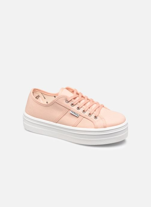 Sneakers Victoria BARCELONA LONA Beige vedi dettaglio/paio