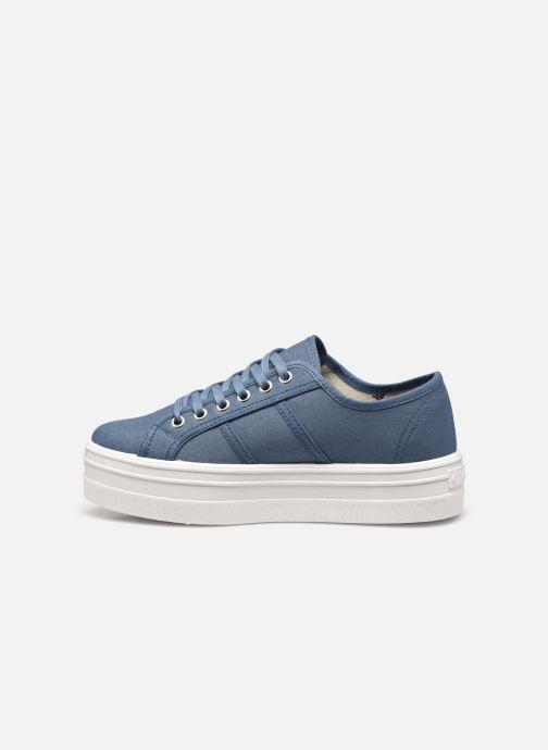 Sneakers Victoria BARCELONA LONA Azzurro immagine frontale