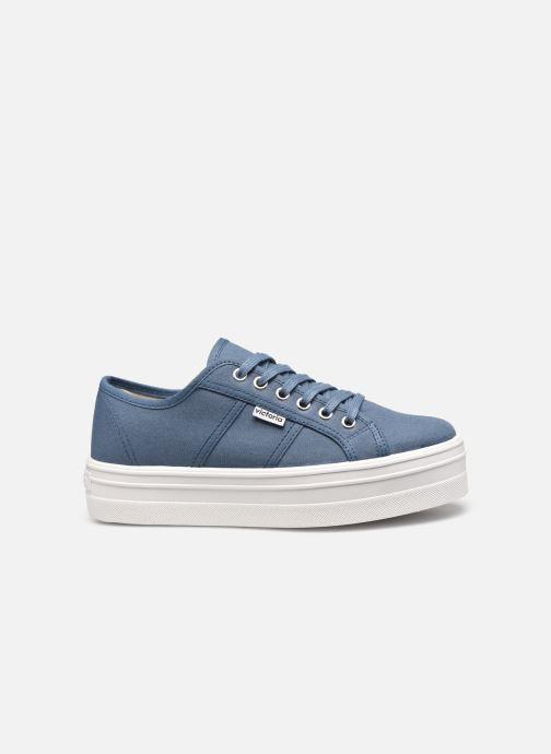 Sneakers Victoria BARCELONA LONA Azzurro immagine posteriore