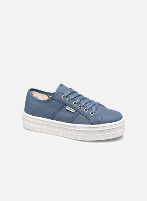 Sneakers Victoria BARCELONA LONA Azzurro vedi dettaglio/paio