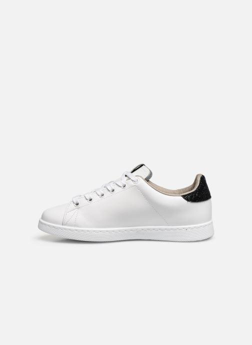 Sneakers Victoria TENIS PIEL GLITTER Wit voorkant