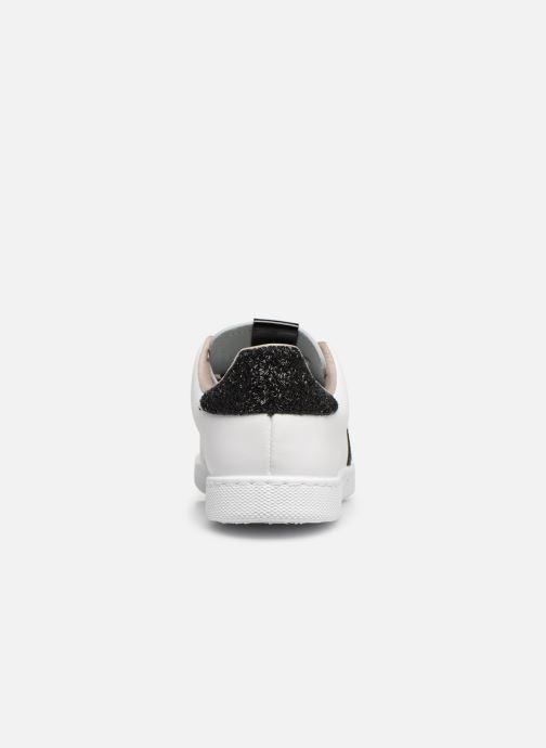 Sneakers Victoria TENIS PIEL GLITTER Wit rechts