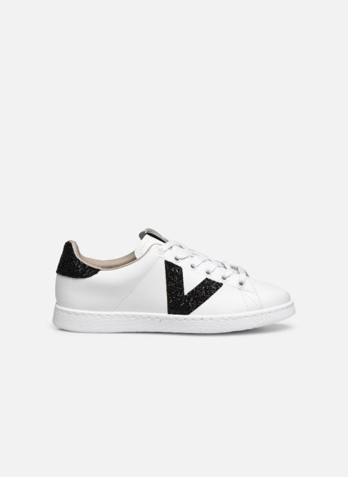 Sneakers Victoria TENIS PIEL GLITTER Wit achterkant