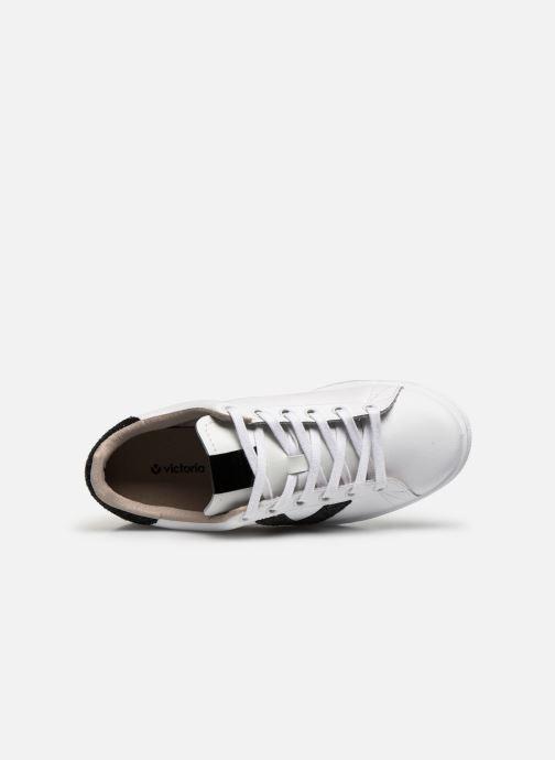 Sneakers Victoria TENIS PIEL GLITTER Wit links