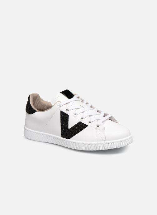 Sneakers Victoria TENIS PIEL GLITTER Wit detail
