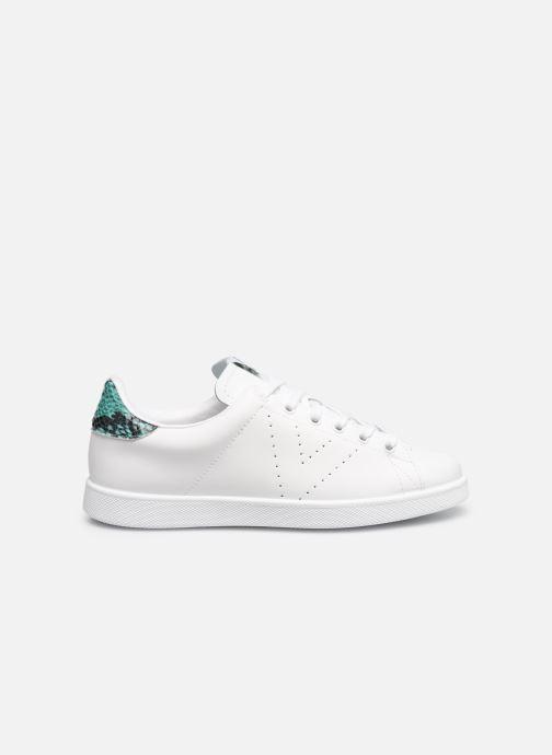 Sneakers Victoria TENIS PIEL PERRILLO SERPIE Bianco immagine posteriore