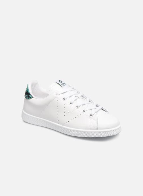 Sneakers Victoria TENIS PIEL PERRILLO SERPIE Bianco vedi dettaglio/paio