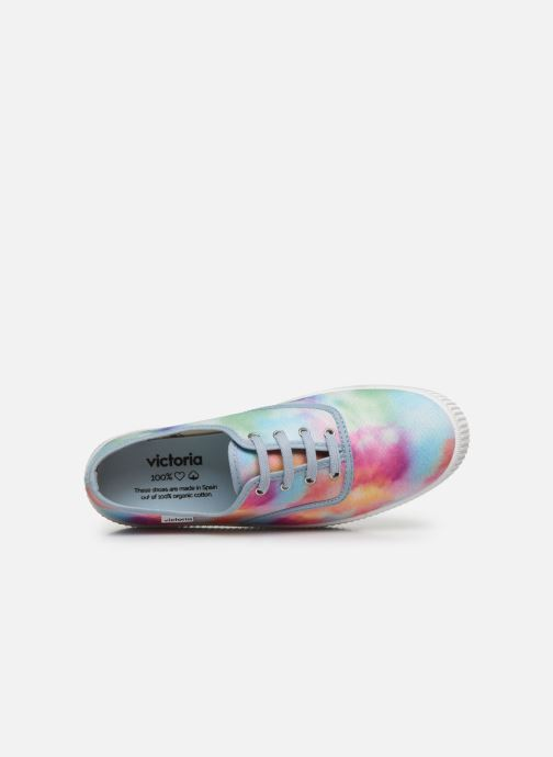 Baskets Victoria 1915 DOBLE TIE DYE Multicolore vue gauche
