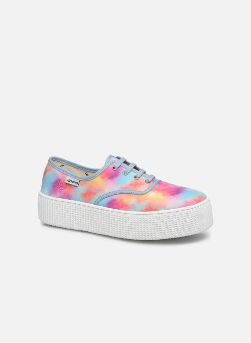 Baskets Victoria 1915 DOBLE TIE DYE Multicolore vue détail/paire