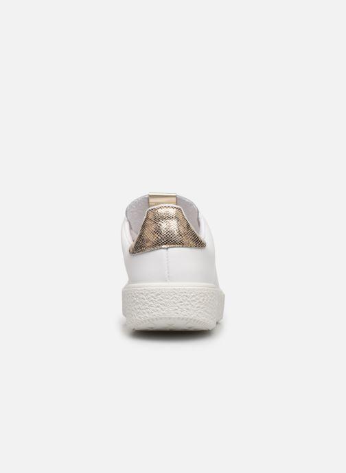 Sneakers Victoria UTOPÍA RELIEVE PIEL Bianco immagine destra