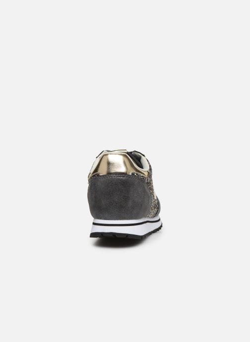 Sneakers Victoria COMETA GLITER Nero immagine destra
