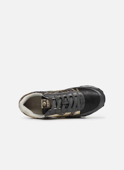 Sneakers Victoria COMETA GLITER Nero immagine sinistra