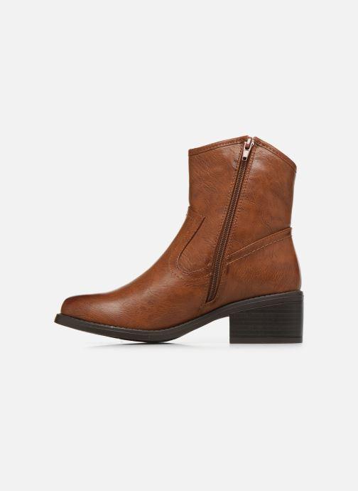 Bottines et boots I Love Shoes THOUVO Marron vue face