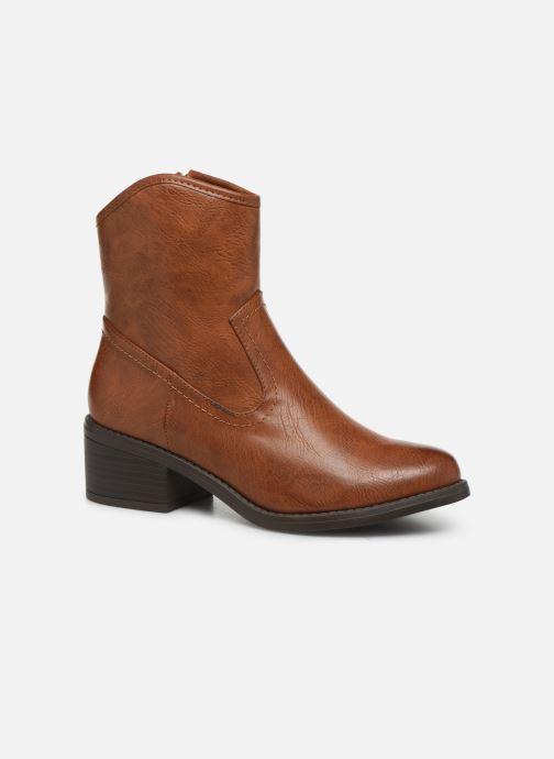 Bottines et boots I Love Shoes THOUVO Marron vue détail/paire