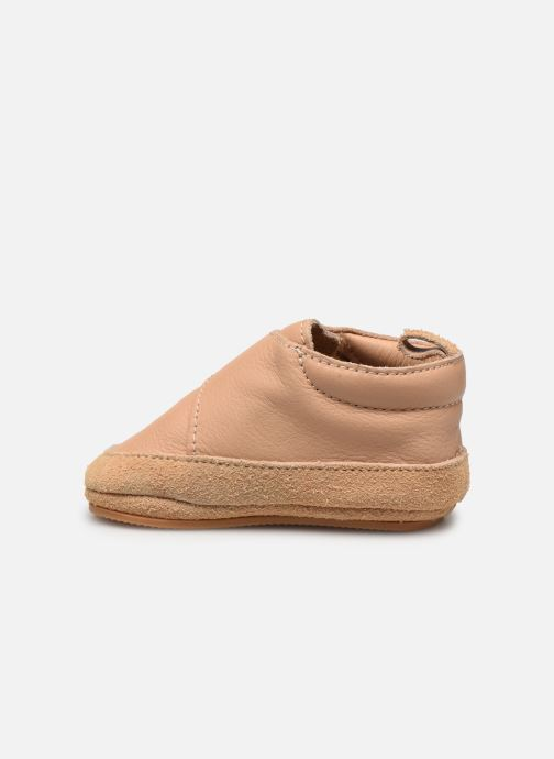 Chaussons Boumy Aki Beige vue face