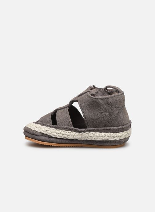 Chaussons Boumy Milan Gris vue face