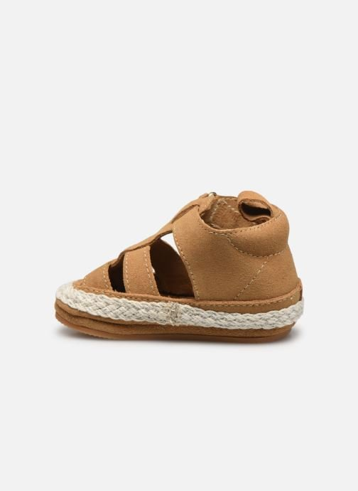 Chaussons Boumy Milan Beige vue face