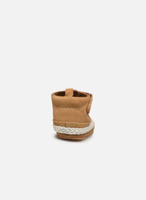 Pantofole Boumy Milan Beige immagine destra
