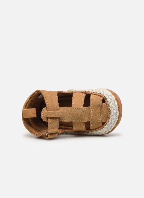 Pantofole Boumy Milan Beige immagine sinistra