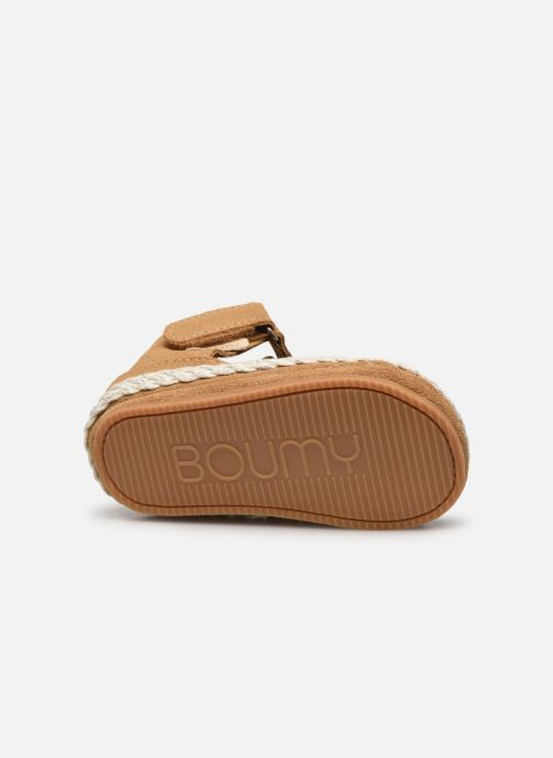Pantofole Boumy Milan Beige immagine dall'alto