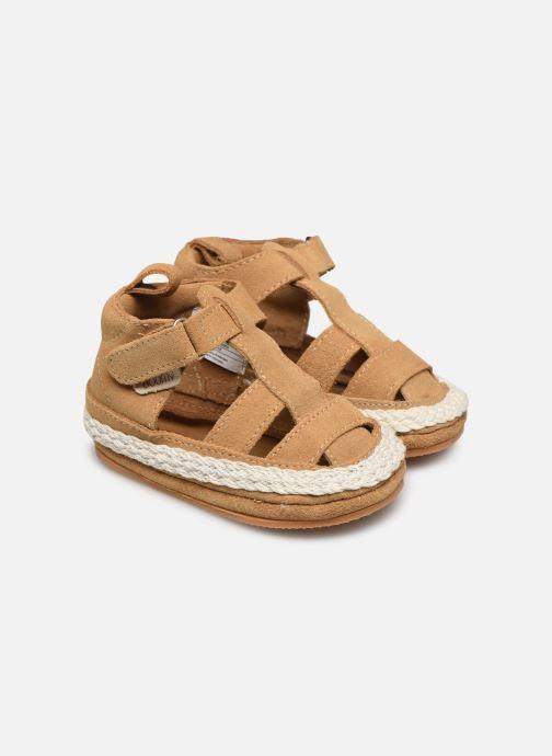 Pantofole Boumy Milan Beige vedi dettaglio/paio