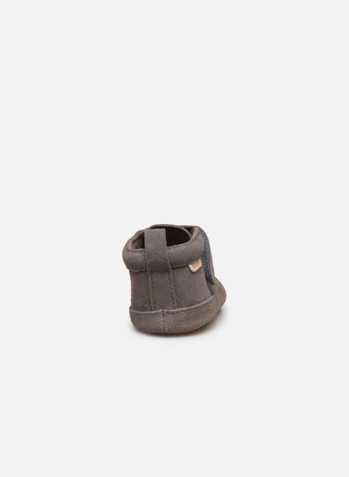 Pantofole Boumy Duc Grigio immagine destra