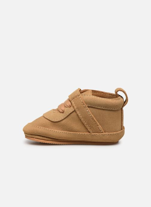 Chaussons Boumy Duc Beige vue face