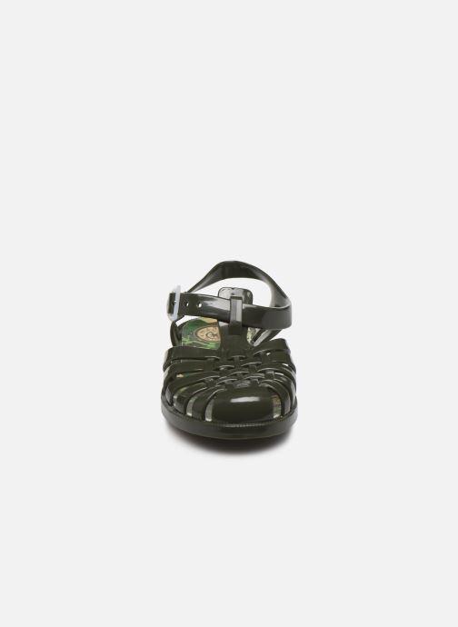 Sandales et nu-pieds Méduse Sunfun Vert vue portées chaussures