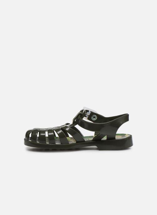 Sandales et nu-pieds Méduse Sunfun Vert vue face