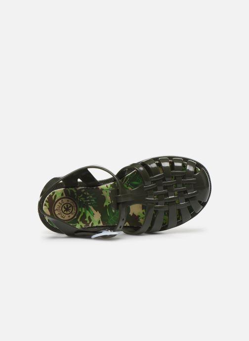 Sandales et nu-pieds Méduse Sunfun Vert vue gauche