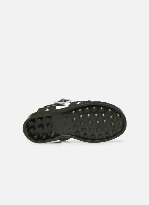 Sandales et nu-pieds Méduse Sunfun Vert vue haut