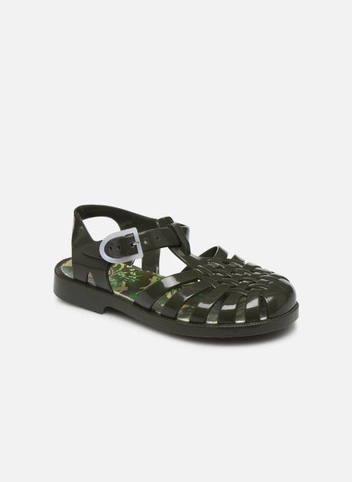 Sandales et nu-pieds Méduse Sunfun Vert vue détail/paire