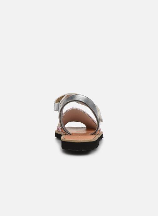 Sandales et nu-pieds MINORQUINES Avarca Velcro Multicolore vue droite