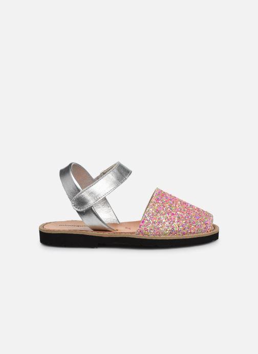 Sandalias MINORQUINES Avarca Velcro Multicolor vistra trasera