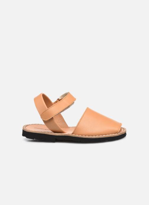 Sandali e scarpe aperte Minorquines Avarca Velcro Marrone immagine posteriore