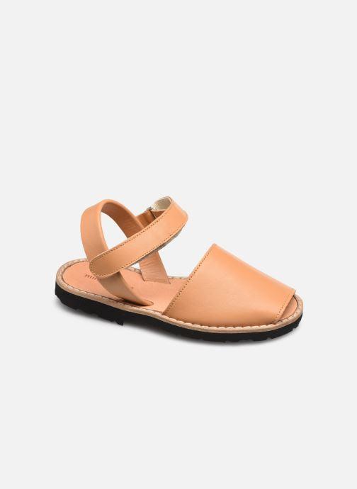 Sandali e scarpe aperte Minorquines Avarca Velcro Marrone vedi dettaglio/paio