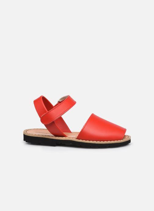 Sandali e scarpe aperte Minorquines Avarca Velcro Rosso immagine posteriore
