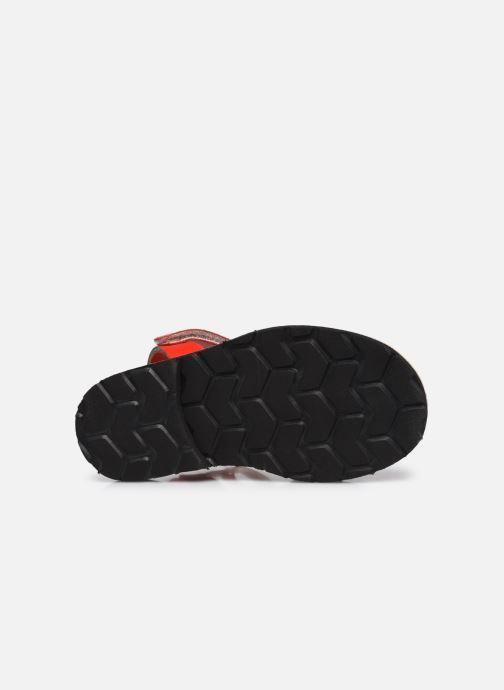 Sandali e scarpe aperte Minorquines Avarca Velcro Rosso immagine dall'alto