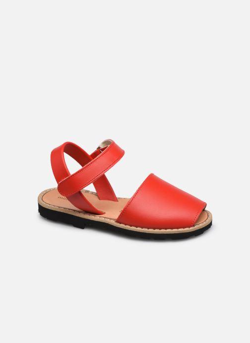 Sandali e scarpe aperte Minorquines Avarca Velcro Rosso vedi dettaglio/paio