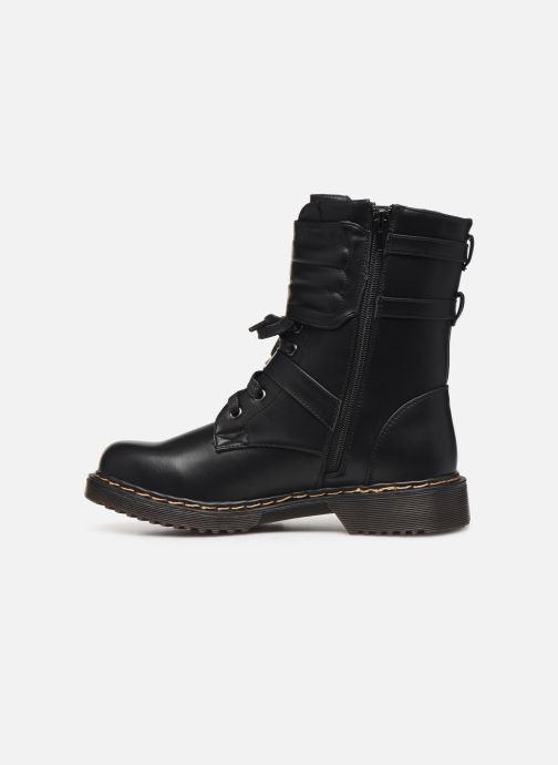 Bottines et boots Initiale Paris Pseudo Noir vue face