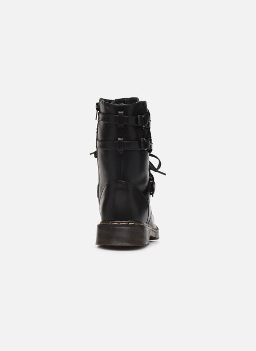 Bottines et boots Initiale Paris Pseudo Noir vue droite