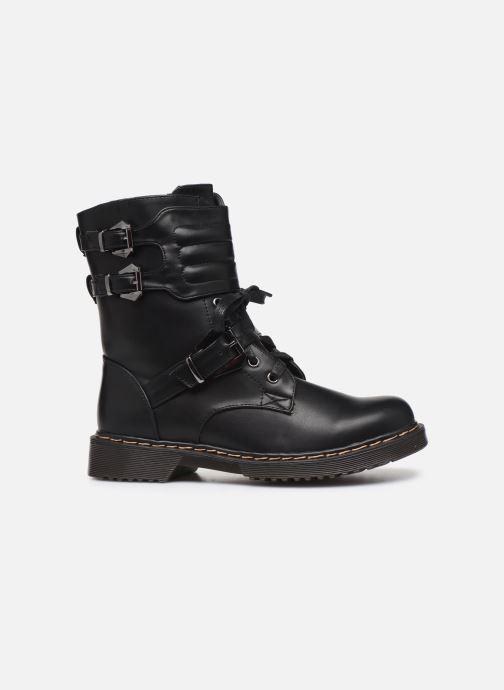 Bottines et boots Initiale Paris Pseudo Noir vue derrière