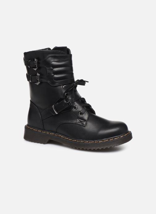 Bottines et boots Initiale Paris Pseudo Noir vue détail/paire