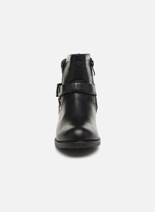 Bottines et boots Initiale Paris Raufre Noir vue portées chaussures