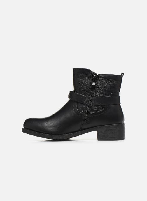 Bottines et boots Initiale Paris Raufre Noir vue face