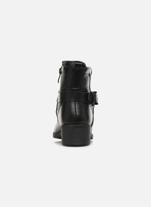 Bottines et boots Initiale Paris Raufre Noir vue droite