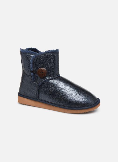 Ankelstøvler Initiale Paris Ridy Blå detaljeret billede af skoene