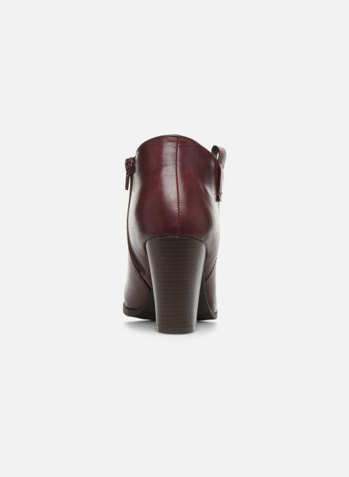 Bottines et boots Initiale Paris Samyr Bordeaux vue droite